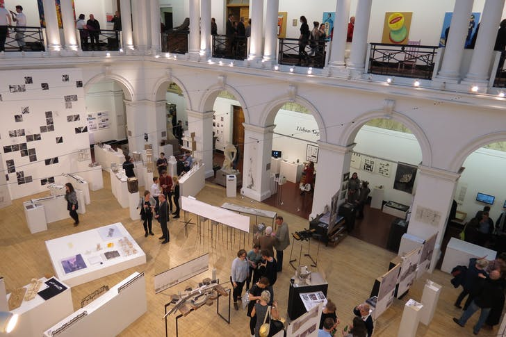 University of Edinburgh School of Architecture Landscape course exhibition, courtesy of Suzanne Ewing.