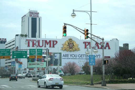 The former Trump Plaza Hotel and Casino photographed in 2008. Image: Wikimedia Commons user Ron Miguel.