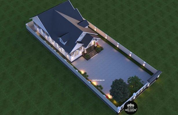 nhà biệt thự 1 tầng đẹp 4