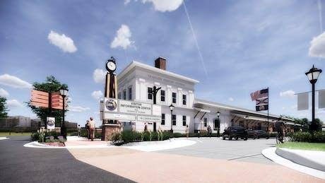 (2019) Amtrak Station Renovation, Tallahassee
