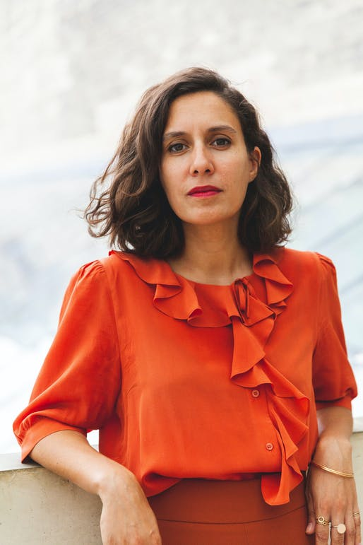 Mariana Pestana, curator of the 5th Istanbul Design Biennial. Image courtesy of Daniel Oduntan.