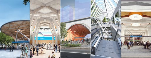 Images courtesy of Melbourne Metro Tunnel project.