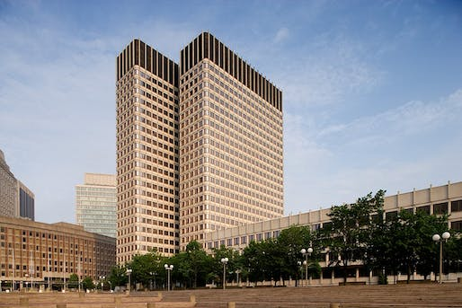 The John F. Kennedy Federal Building in Boston, Massachusetts, designed in 1963 by The Architects Collaborative. Image courtesy of Carol M. Highsmith.
