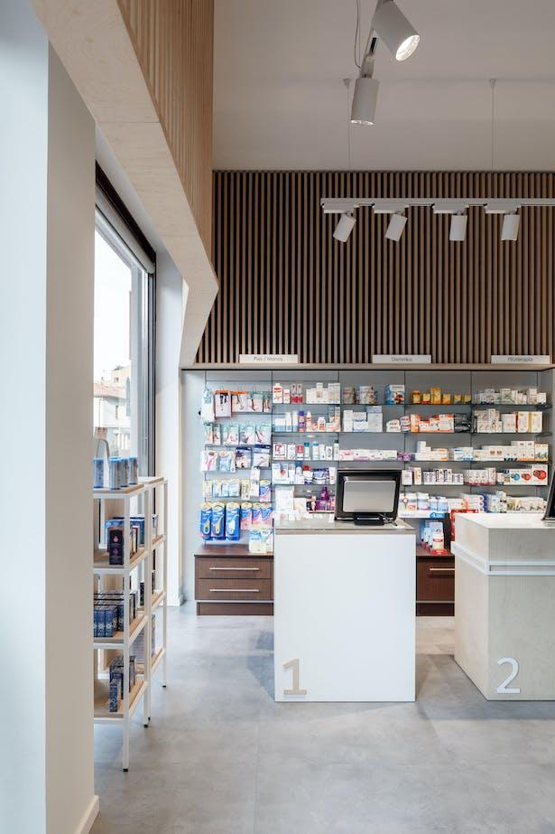 Retail Space Interior