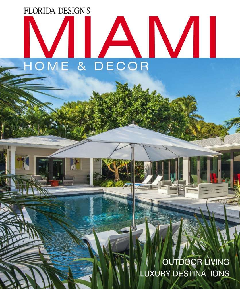 Coral Gables Design By Dkor Featured On Miami Home Decor Magazine