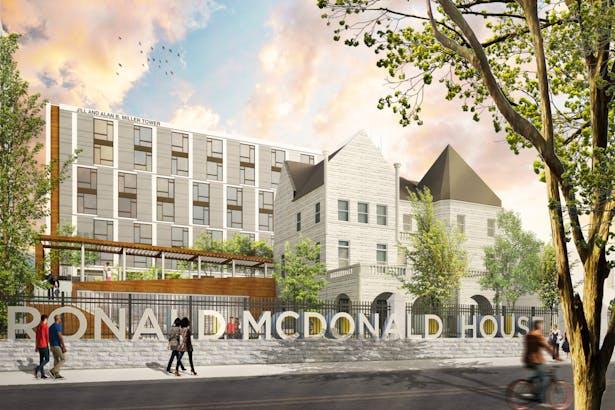 Philadelphia Ronald Mcdonald House Expansion Evan