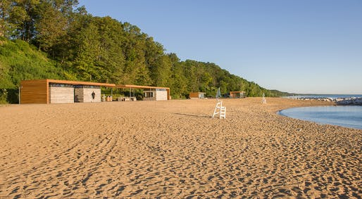 Rosewood Park Beach Improvements; Highland, Illinois | Woodhouse Tinucci Architects. Photo © Bill Timmerman; Park District of Highland Park.