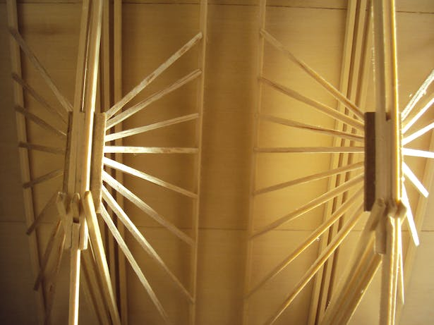 butterfly trusses