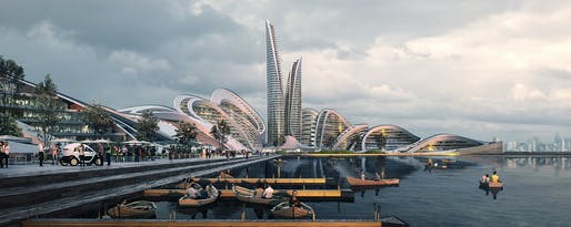 Rendering: Flying Architecture.