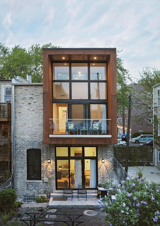 Cortez House in Chicago, IL by moss Design