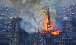 Notre-Dame cathedral: modern spire now off the table