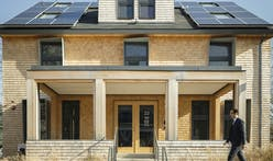 Harvard GSD unveils ultra-efficient HouseZero, designed to produce more energy than it uses