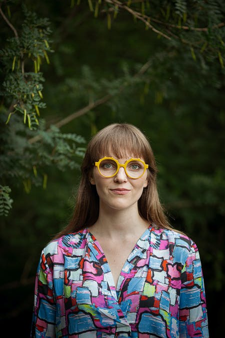 Weronika Zdziarska, 2021 recipient of the RIBA Norman Foster Travelling Scholarship. Photo courtesy of Weronika Zdziarska.