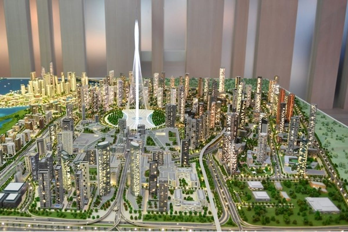 Groundbreaking For Calatrava Designed Dubai Tower Potentially The World S Tallest Building News Archinect