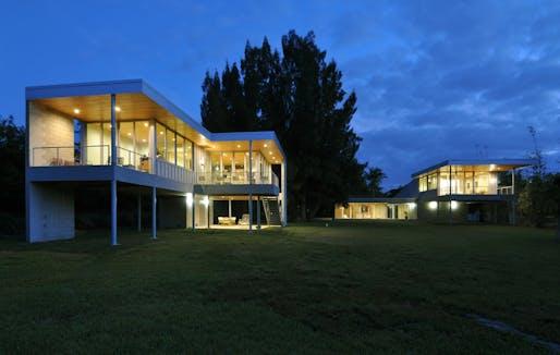 Wabi Sabi House by Hall Architects, P.A.