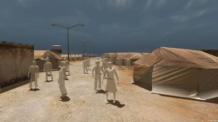 A still from 'Project Syria,' a virtual reality project by the Emblematic Group made in collaboration with Al Jazeera. Credit: Emblematic Group