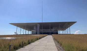 The Building, The Hill & The Monument; The Stavros Niarchos Cultural Centre by Renzo Piano