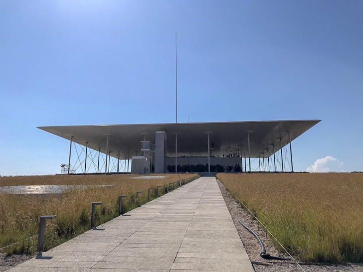 The Stavros Niarchos Cultural Centre by Renzo Piano. Courtesy of Konstantinos Chatzaras