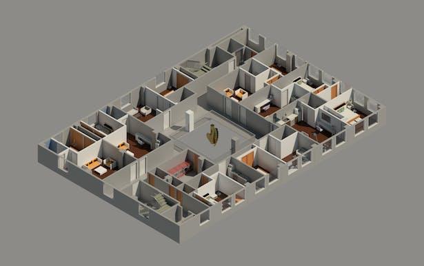 Apartments Level Floor Plan