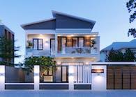 Đẳng cấp với mẫu biệt thự hiện đại 2 tầng đẹp tại Thanh Hóa