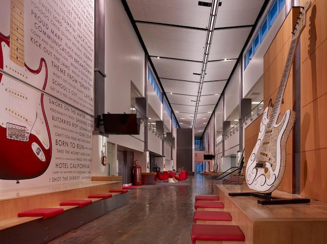 Fender Musical Instruments by Ware Malcomb. Photo courtesy of Ware Malcomb.