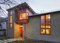 Santa Cruz Straw Bale Home