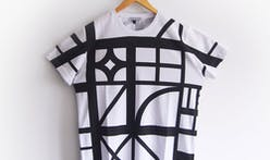"""Architecture for your body:"" the Half-Timbered T-Shirt designed by Sam Jacob Studio"