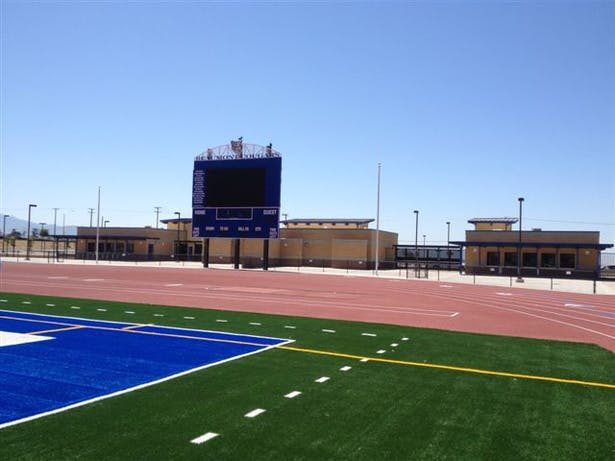 Entry and Scoreboard of BHS New Athletic Complex