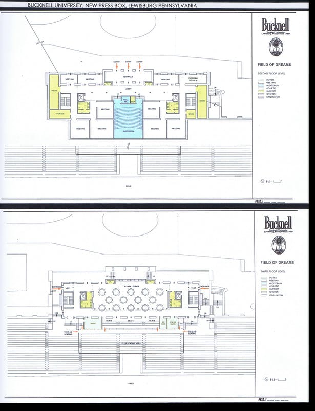 2nd and 3rd Floor Plans