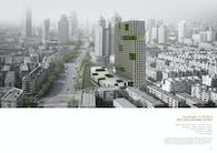 HANGING GARDEN----HIGH-RISE BUILDING DESIGN