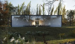HofmanDujardin imagines a Funerary Center that offers a contemporary, peaceful space for celebrating the deceased