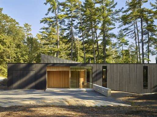 "<a href=""https://archinect.com/MJMA/project/manitouwabing-lake-residence"">Manitouwabing Lake Residence</a> in Parry Sound, Canada by <a href=""https://archinect.com/MJMA"">MJMA</a>"