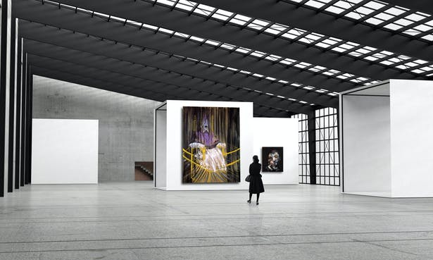 Exhibition Space / Paintings
