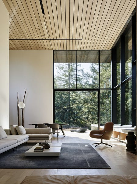 Miner Road in Orinda, CA by Faulkner Architects; Photo: Joe Fletcher