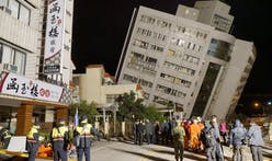 Five buildings tilt dangerously after magnitude 6.4 Taiwan quake