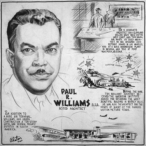 Paul R. Williams by Charles Alston.