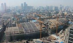 Construction Update: Kohn Pedersen Fox's Riverside 66 in Tianjin, China