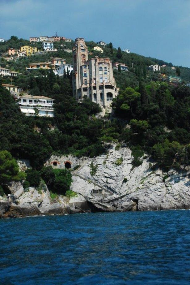 The castle from the sea, summer 2014