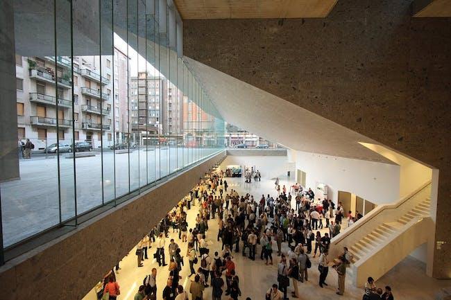 Bocconi University, Milan, Italy designed by Grafton Architects photo © Paolo Tonato