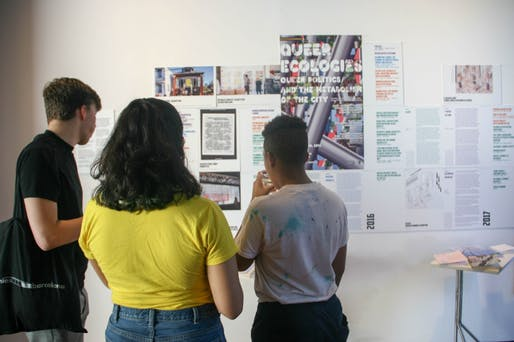 "ArchiteXX's ""Now What?! Advocacy, Activism, and Alliances in American Architecture since 1968"" exhibition at Pratt Institute. Photo © Jen Grosso."