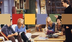 Interior color schemes from iconic TV show set designs