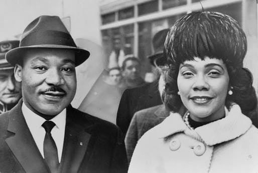 Dr. Martin Luther King Jr. and his wife, Coretta Scott King, 1964. World Telegram & Sun photo by Herman Hiller / Library of Congress
