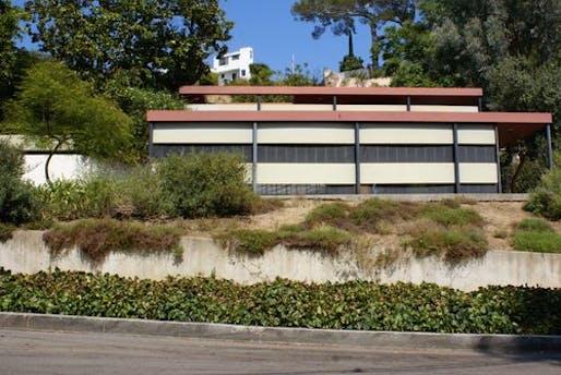 The Schrage House, photo, LA Times