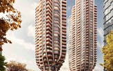 Heatherwick Studio shares the latest visual for their new residential tower proposal for Vancouver