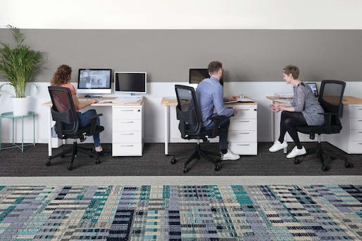 Thread Story carpet line by Interface