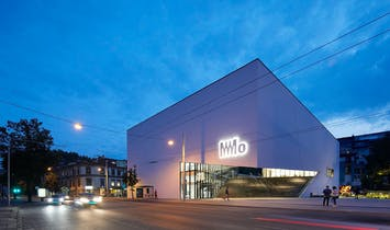 Studio Daniel Libeskind's MO Modern Art Museum in Vilnius opens to the public