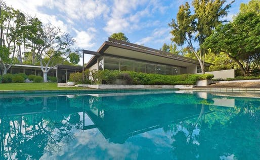 Kronish house The Richard Neutra-designed Kronish House in Beverly Hills features 6,891 square feet of living space, six bedrooms and 5 1/2 bathrooms. (Marc Angeles, Unlimited Style / July 24, 2011)