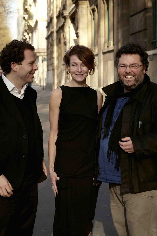 AWP founders, from L to R: Matthias Armengaud, Alessandra Cianchetta, and Marc Armengaud. Photo by Gregori Civera.