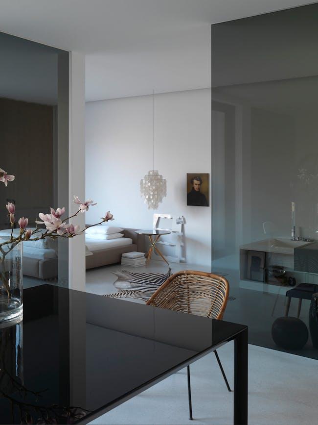 Interiors: Michael Albert's house by Hans Düttmann. Photo by Mads Mogensen.
