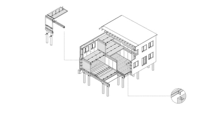 Recycled Buildings: How to Design for Disassembly